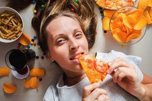 Mơ ăn Pizza