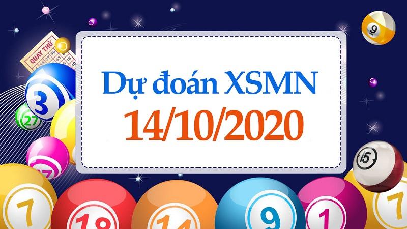 Chốt số dự đoán XSMN ngày 14/10/2020