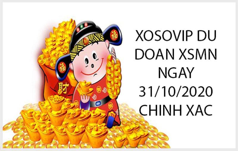 Xosovip dự đoán XSMN ngày 31/10/2020