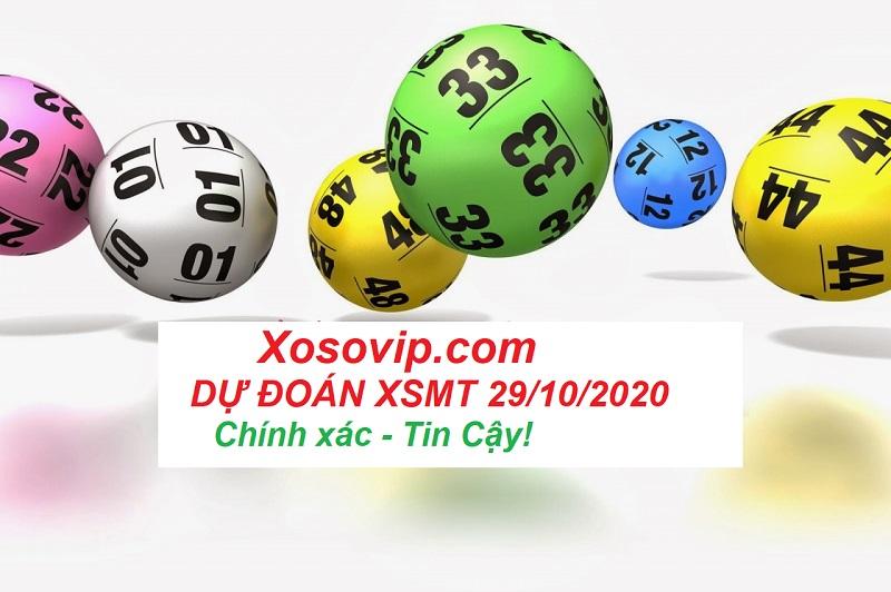Kết quả dự đoán XSMT ngày 29/10/2020