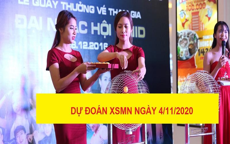 Dự đoán XSMN ngày 4/11/2020 chốt số cực hay và hấp dẫn