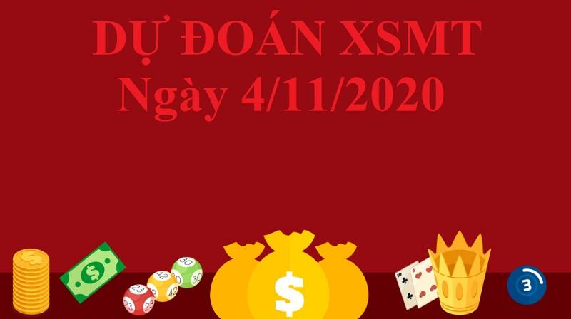 Dự đoán XSMT ngày 4/11/2020 tìm ra con số đẹp khả năng về cao