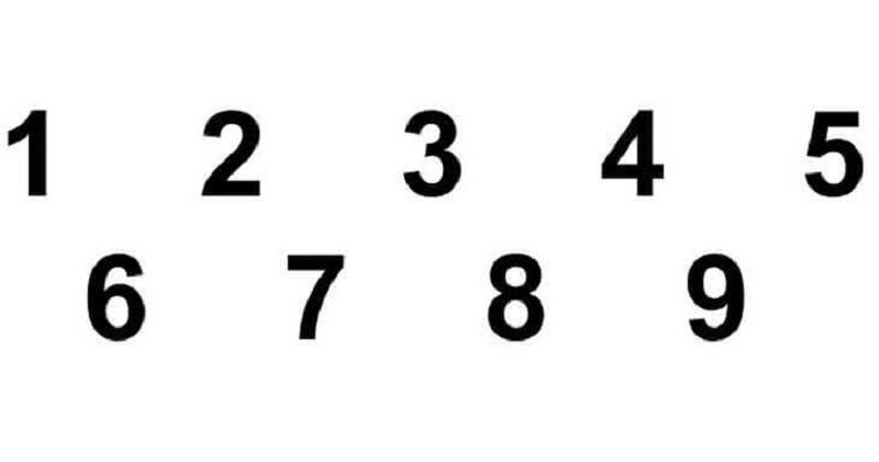 Chiêm bao thấy dãy số nối tiếp nhau theo thứ tự