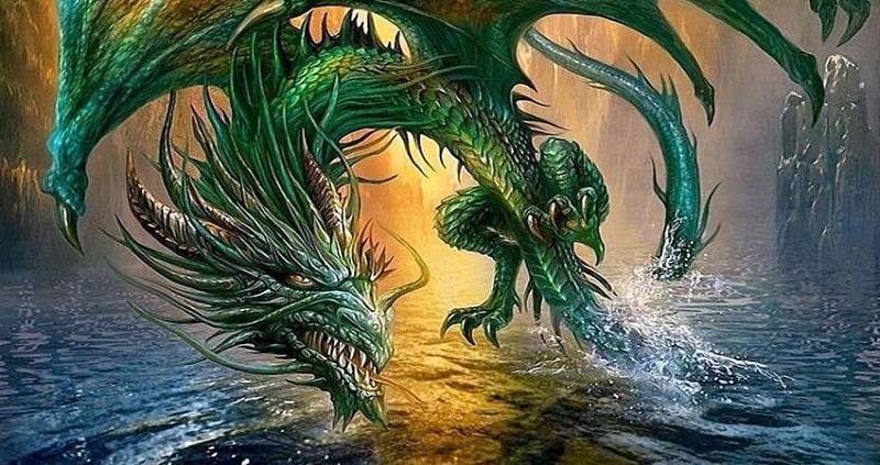 Chiêm bao thấy rồng đang nổi giận