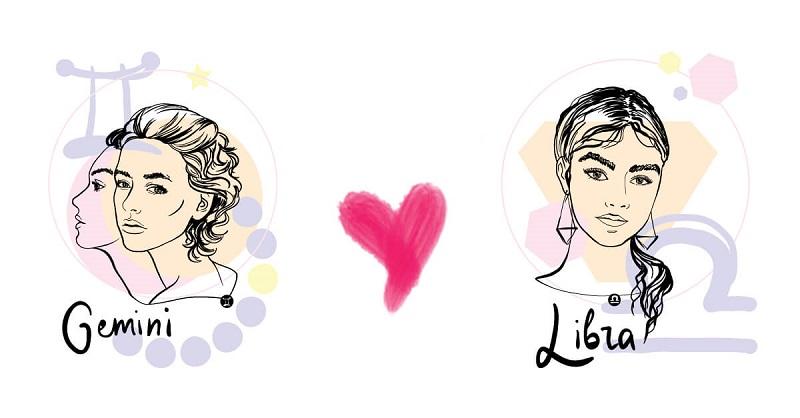 Song Tử và Thiên Bình có quan điểm tình yêu khá giống nhau