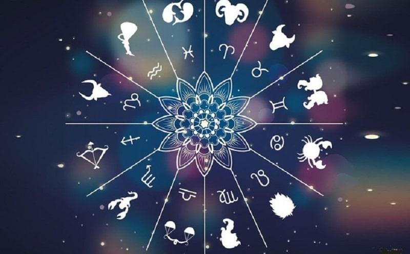 Vòng tròn thể hiện 12 cung hoàng đạo ngày sinh