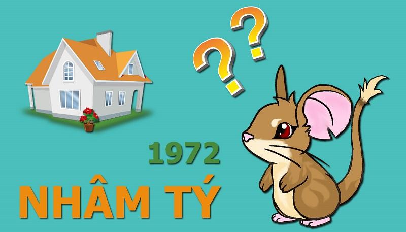 Sinh năm 1972 là tuổi Nhâm Tý (tức con chuột)
