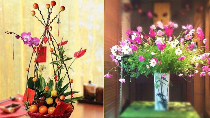 Một số lưu ý khi chưng hoa ngày Tết