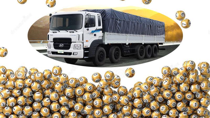 Chọn con số may mắn khi mơ nhìn thấy xe tải