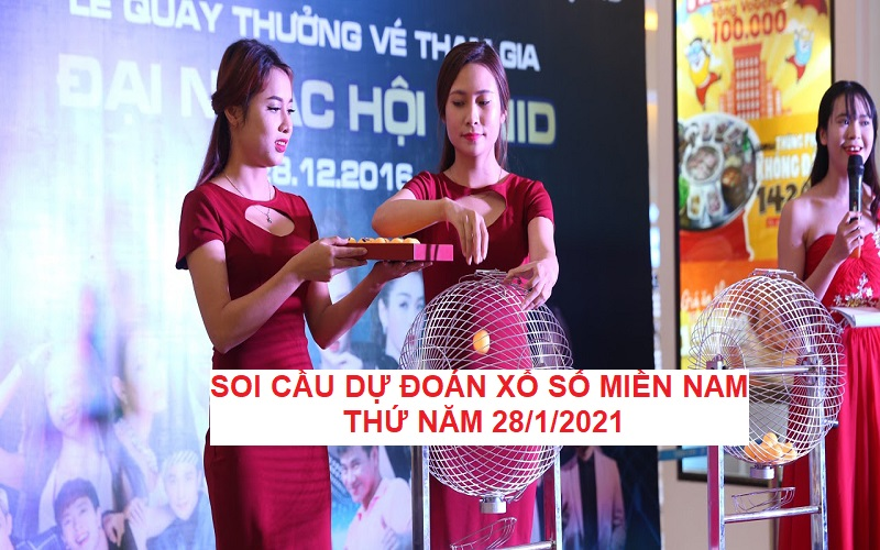 Phương pháp Soi cầu dự đoán xổ số miền Nam thứ năm 28/1/2021