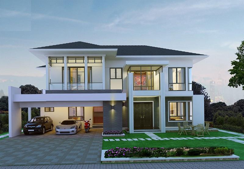 Phong thủy cửa chính nhà ở luôn được quan tâm hàng đầu khi xây nhà
