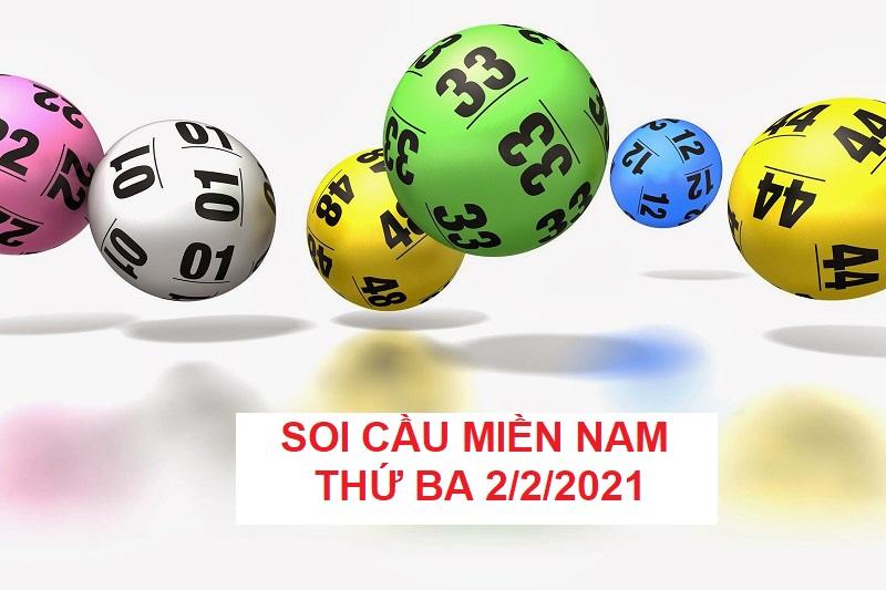 Soi cầu miền Nam thứ ba 2/2/2021 hay nhất