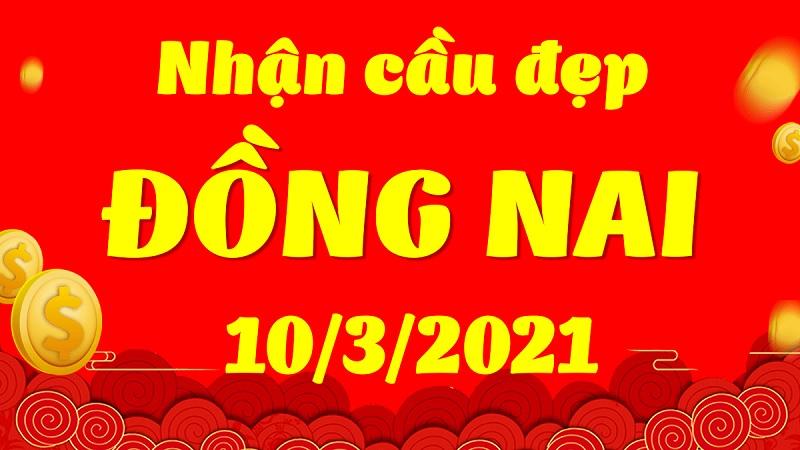 Dự đoán xổ số miền Nam hôm nay thứ tư 10/3/2021 đài Đồng Nai