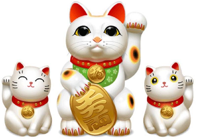 Ý nghĩa mèo thần tài mang lại may mắn, tài lộc