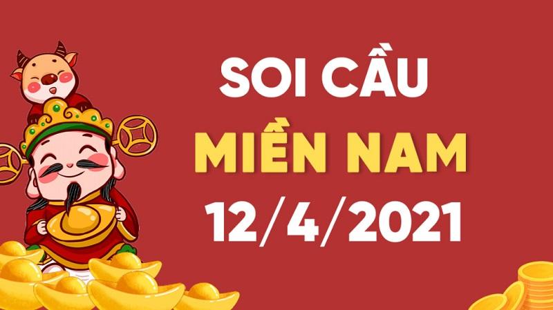 Soi cầu miền Nam bữa thứ hai 12/4/2021 siêu chính xác
