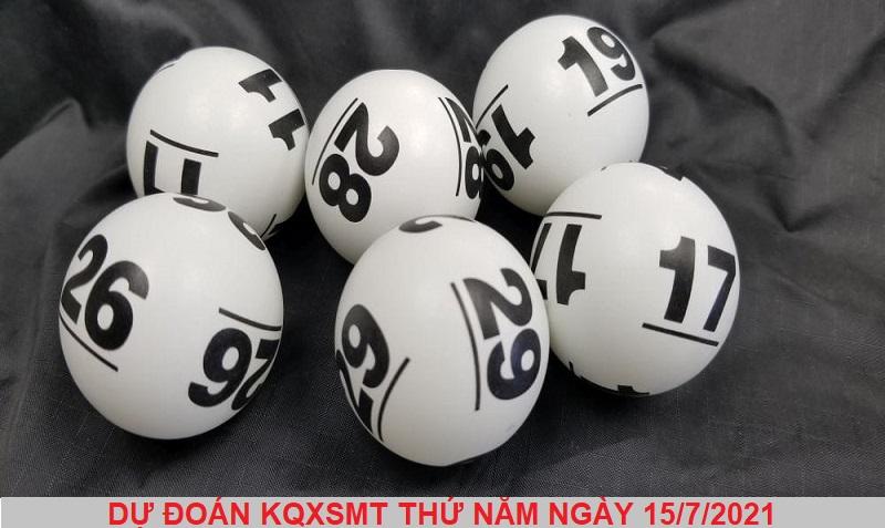 Dự đoán KQXSMT thứ năm ngày 15/7/2021 chuẩn xác nhất